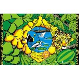 Bandeira do Brasil Floresta