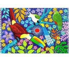 Aves Tropicais Naif